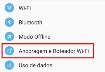 como usar a internet do pc no celular