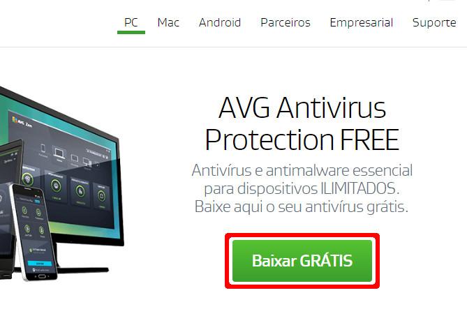 baixar antivírus grátis para android