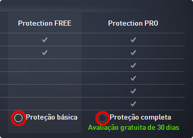 versao do antivirus